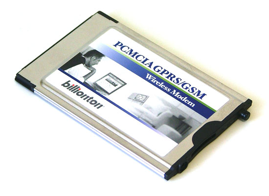BILLIONTON PCMCIA GPRS GSM DRIVERS FOR WINDOWS 7