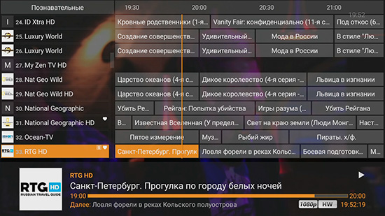 Для телевизора переключение программу