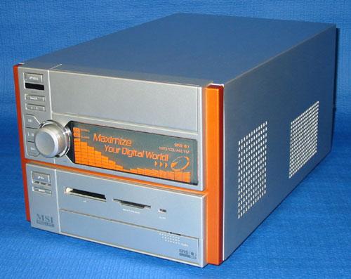 DESTEN eStudio-724PM: Домашний мультимедийный центр на базе Barebone платформы MEGA PC (MEGA651) - обзоры и тесты